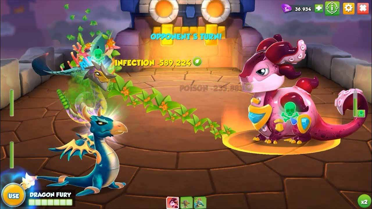 dragon mania legends hack mod