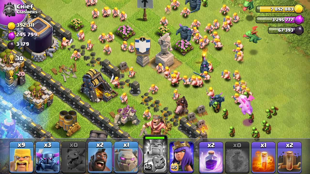 hack mod clash of clans cho android