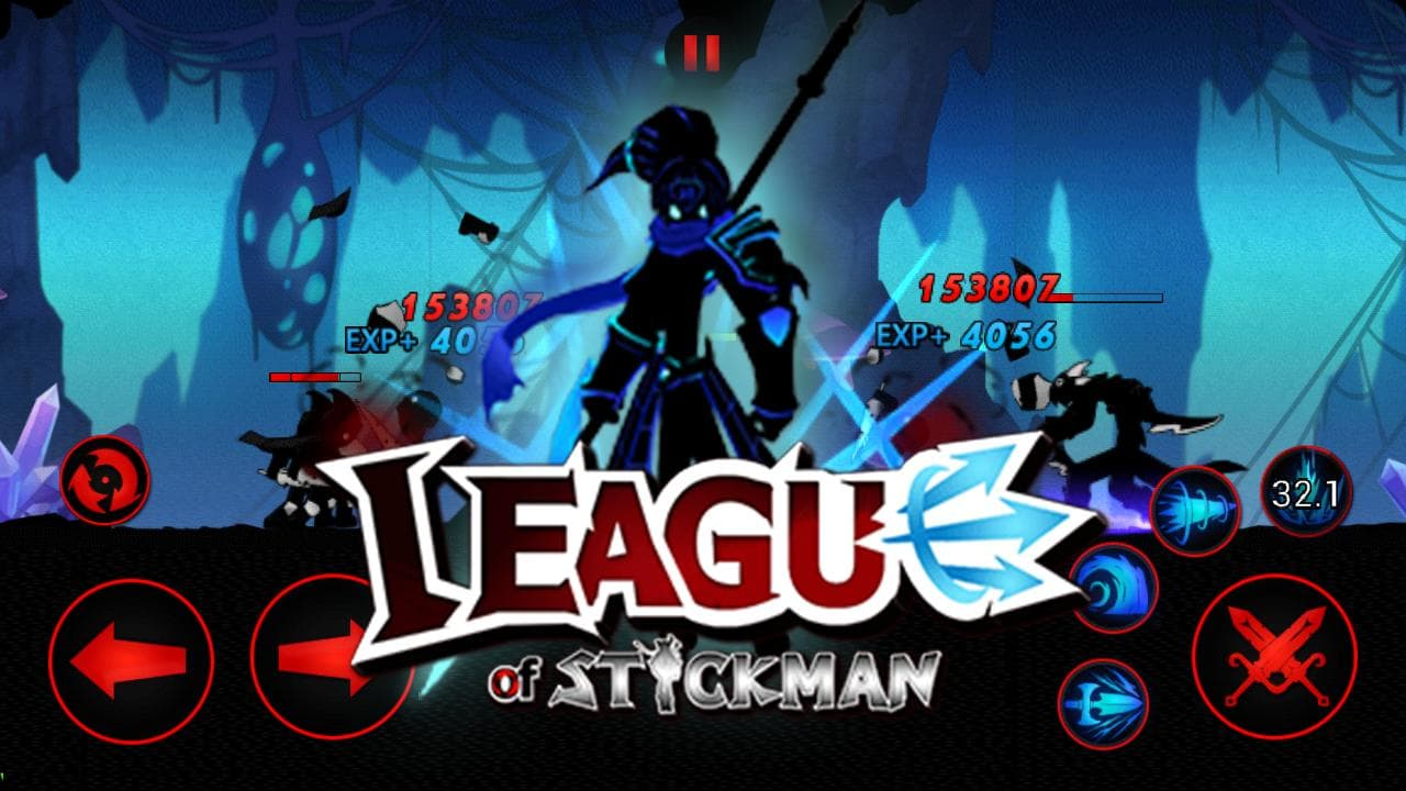 league of stickman hack mod android