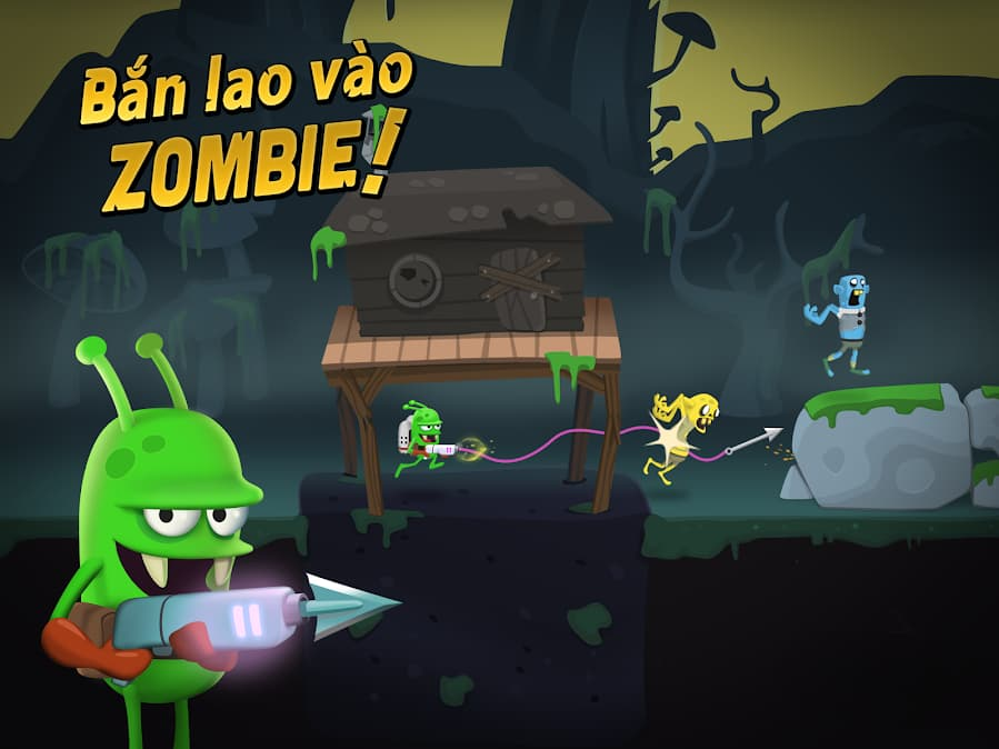 săn zombie trong game