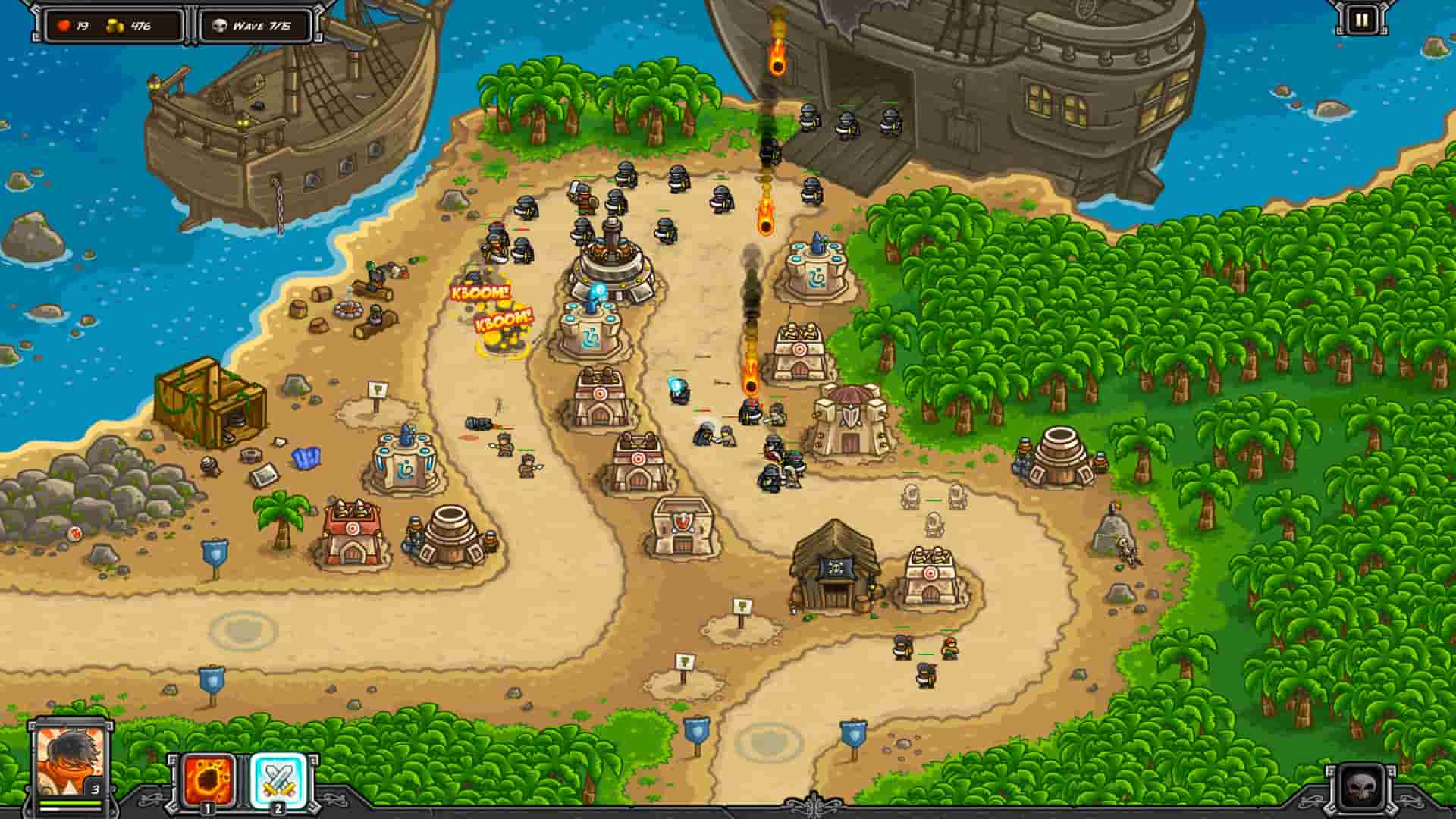 kingdom rush frontiers mod cho android