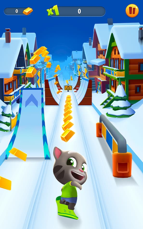 tải talking tom gold run mod aok