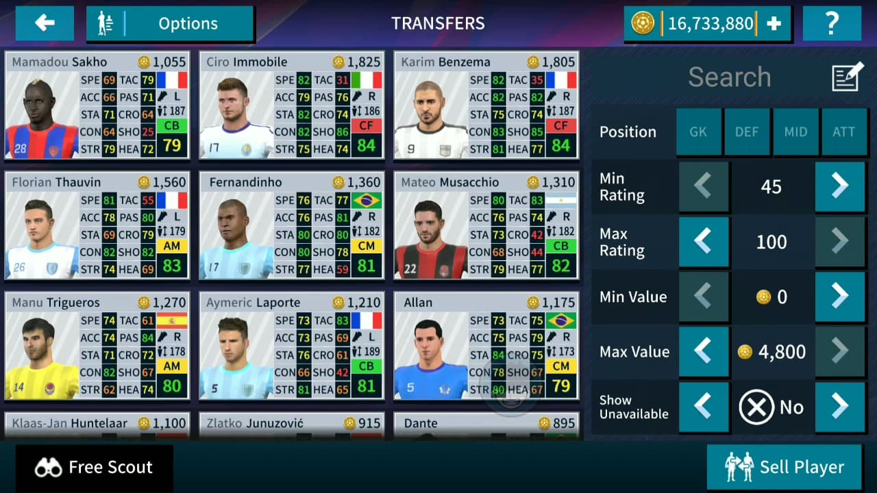 hack dream league soccer 2020 cho android