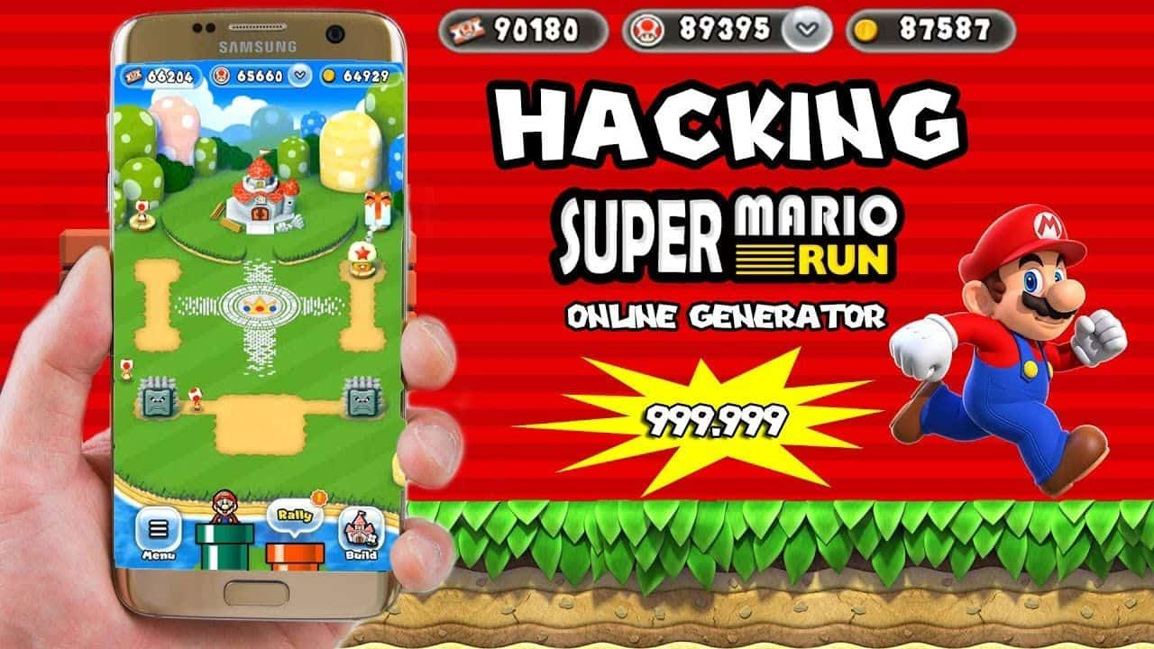 hack game super mario run apk