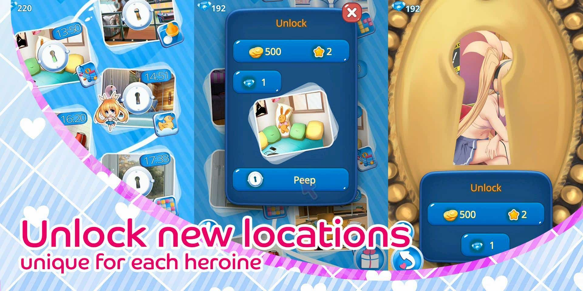 tải my pocket girls hack cho android
