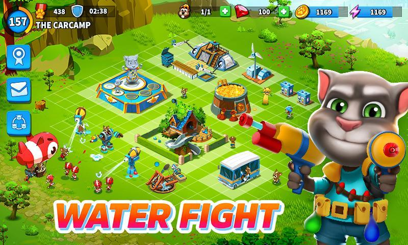 talking tom camp mod apk cho android