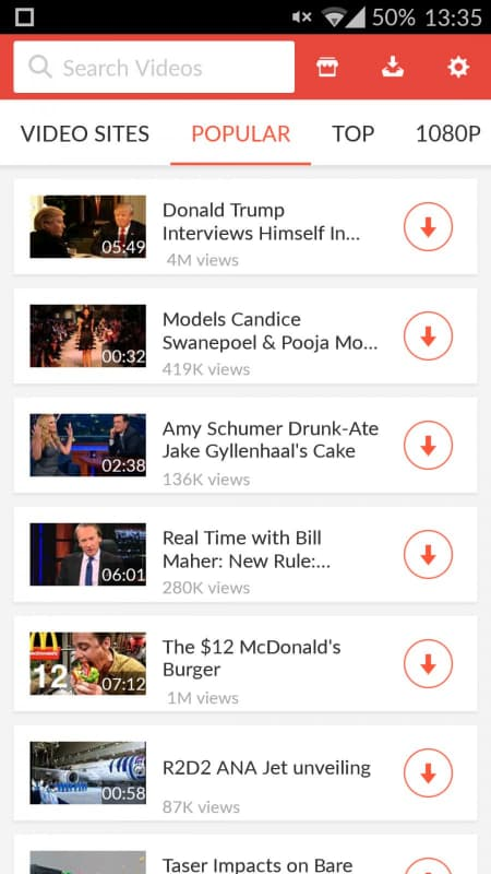 snaptube mod apk cho android